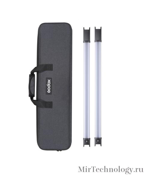 Комплект светодиодных осветителей Godox TL60*2 kit для видеосъемки