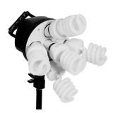 Осветитель люминесцентный FST KF-130II (5X45 ВТ + софтбокс 50X70)
