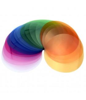 Набор корректирующих светофильтров Godox V-11T для круглой головки