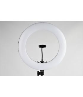 Светодиодный  кольцевой осветитель FST LED 18-RLR