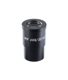 Окуляр для микроскопа 10x/22 со шкалой (D 30 мм)