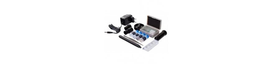 Наборы и аксессуары для микроскопов