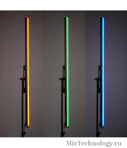 Осветитель светодиодный GreenBean LedFlow 4ft RGB (BP) со встроенным аккумулятором