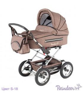 Коляска Reindeer Style Len set 2 с конвертом, Цвет S-18