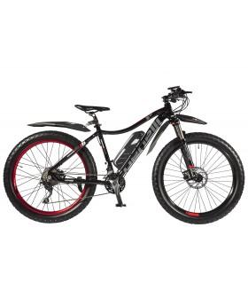 Велогибрид (электровелосипед) Benelli Fat Nerone Черный с ручкой газа
