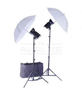 Комплект галогеновых осветителей Falcon Eyes QLBK-500