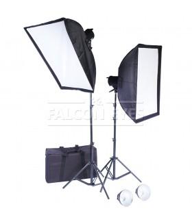 Комплект галогеновых осветителей Falcon Eyes QLBK-1000