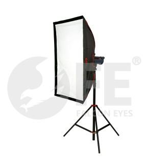 Софтбокс Falcon Eyes SBQ-80120 BW жаропрочный с сотовой насадкой