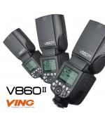 Вспышка накамерная Godox VING V860II-N KIT TTL для Nikon