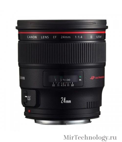 Объектив Canon EF 24mm f/1.4L II USM