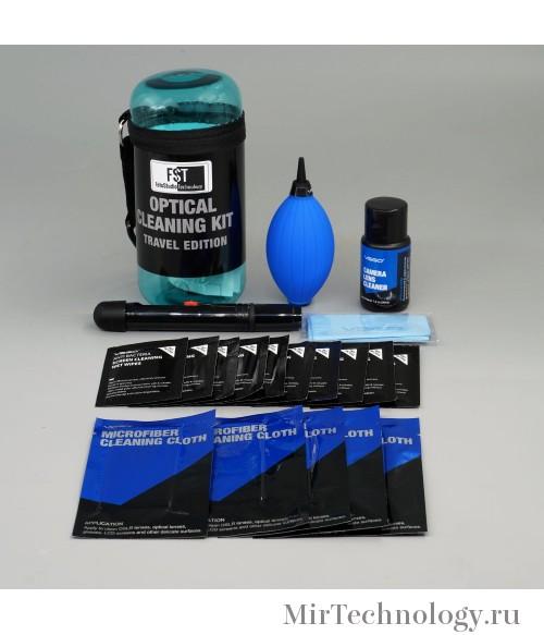 FST TRAVEL KIT-03 набор для чистки оптики синий