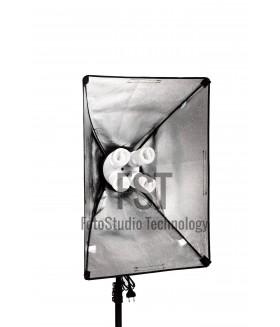 Осветитель люминисцентный FST KF-104II (4X45 ВТ + софтбокс 50X70 см)
