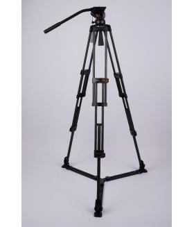 Профессиональный видеоштатив FST TH609C карбоновый с видеоголовой