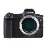 Фотоаппарат со сменной оптикой Canon EOS R Body + адаптер EF EOS R
