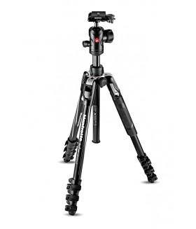 Manfrotto MKBFRLA4BK-BH Befree Advanced Travel Lever штатив и шаровая головка для фотокамеры (черный)