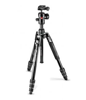 Manfrotto MKBFRTA4BK-BH Befree Advanced Travel Twist штатив и шаровая головка для фотокамеры (черн)