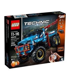 Конструктор LEGO Technic 42070 Эвакуатор-внедорожник 6х6