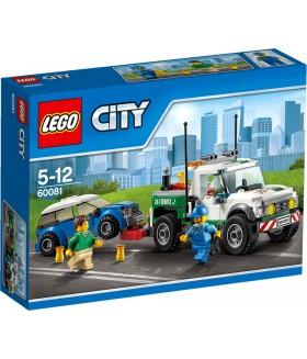 Конструктор LEGO City 60081 Буксировщик автомобилей