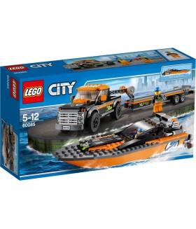 Конструктор LEGO City 60085 Внедорожник с гоночным катером