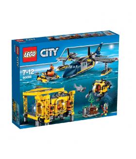 Конструктор LEGO City 60096 Глубоководная исследовательская база