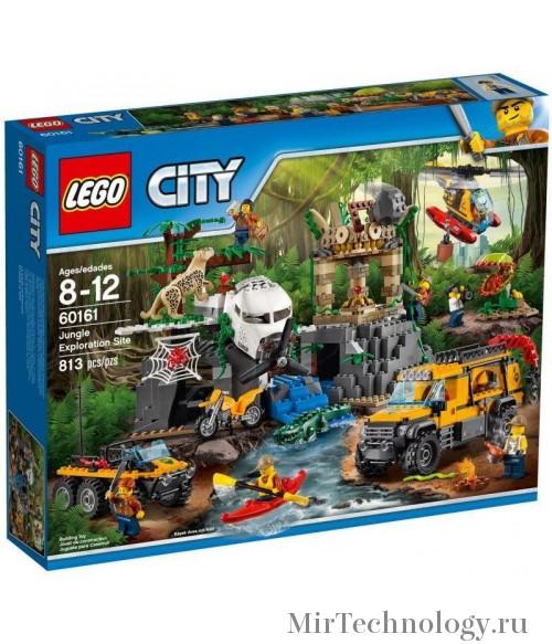 Конструктор LEGO City 60161 База исследователей джунглей