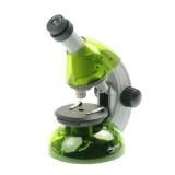 Микроскоп Микромед Атом 40x-640x (лайм)