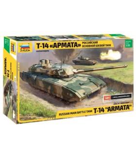 """Сборная модель ZVEZDA Российский танк Т-14 """"Армата"""" (3670) 1/35"""