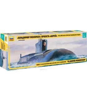 Сборная модель ZVEZDA Подводная лодка АПЛ «Борей» (9058) 1/350