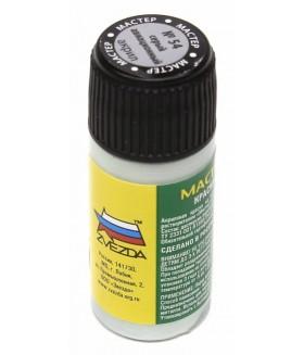 Акриловая краска ZVEZDA - металлик серый авиационный 54-АКР