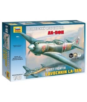 Сборная модель ZVEZDA Советский истребитель Ла-5ФН (4801) 1:48