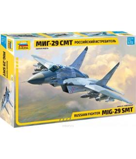 Сборная модель ZVEZDA Многоцелевой фронтовой истребитель МиГ-29 СМТ (7309) 1:72
