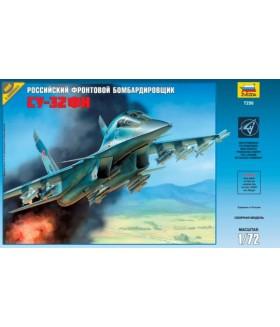 Сборная модель ZVEZDA Российский фронтовой бомбардировщик Су-32ФН (7250) 1:72