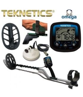 """Металлодетектор Teknetics Omega Combo 5""""DD, 10"""" conc, 11""""DD"""
