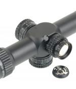 Прицел оптический Veber Wolf II 5-30x56 SF IG RF1 с масштабируемой сеткой FFP
