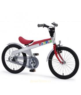 Беговел-велосипед 2 в 1 Rennrad 18 Красный