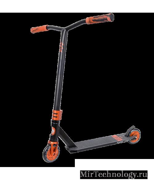 Трюковой самокат TechTeam Duke 404 (2019) черно-оранжевый