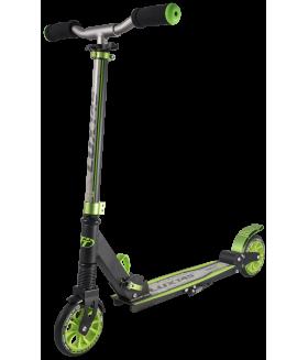Самокат TechTeam 145 Lux 2018 Черно - зеленый
