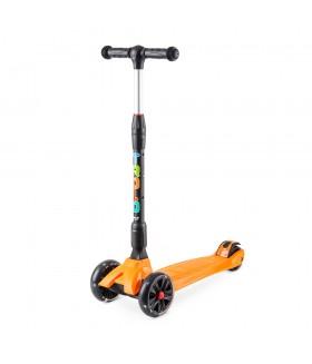 Самокат Trolo Rapid со светящимися колесами Оранжевый