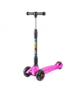 Самокат Trolo Rapid со светящимися колесами Розовый (сиреневый)