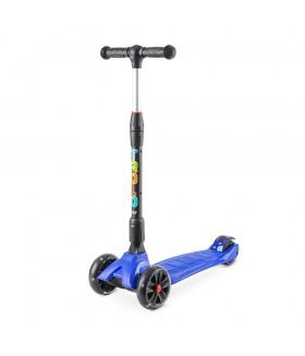 Самокат Trolo Rapid со светящимися колесами Синий
