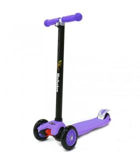 Трехколесный самокат Hubster Maxi, цвет фиолетовый