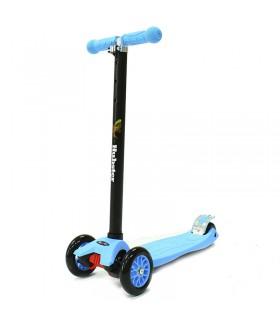 Трехколесный самокат Hubster Maxi, цвет голубой
