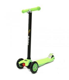 Трехколесный самокат Hubster Maxi, цвет зеленый