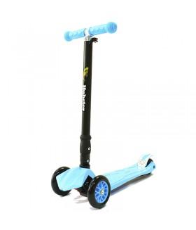 Трехколесный самокат Hubster Maxi Plus голубой