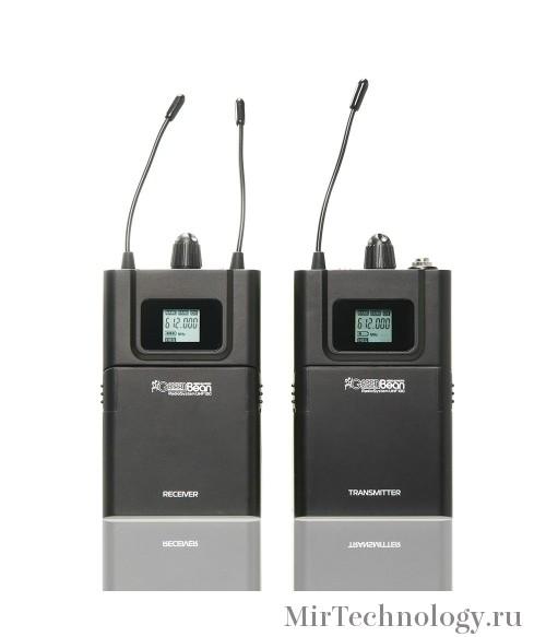 Петличная радиосистема беспроводная GreenBean RadioSystem UHF100 для видеокамер