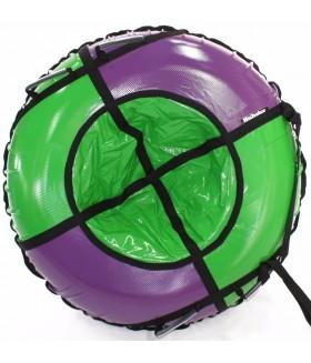 Тюбинг Hubster Sport Pro фиолетовый-зеленый размер 105 см