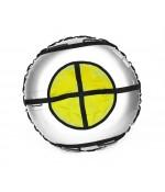 Тюбинг Hubster Ринг Pro серый-желтый 90 см