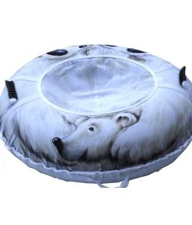 Ватрушка-тюбинг «Белый медведь» (110 см)