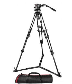 Manfrotto 526,545GBK Штатив с видеоголовкой для видеокамеры