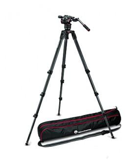 Manfrotto MVKN8CTALL: Штатив 536 с видеоголовой MVHN8AH для видеокамеры
